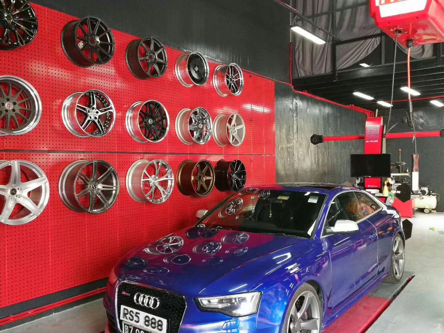 The most advanced 3d wheel alignment machine from China factory