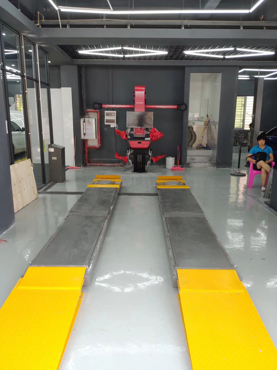 The most advanced 3d wheel alignment machine from China ...